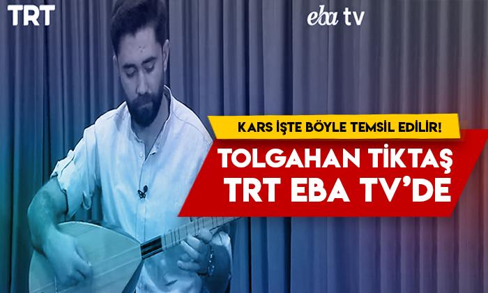Kars işte böyle temsil edilir! Tolgahan Tiktaş TRT EBA TV'de