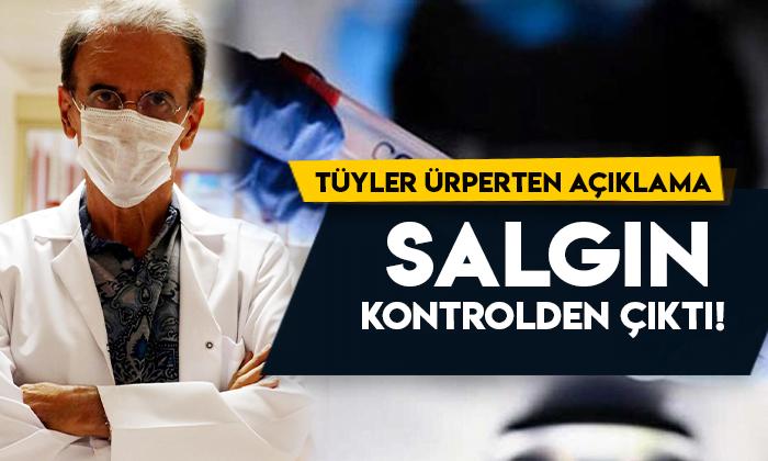 Prof. Dr. Mehmet Ceyhan'dan tüyler ürperten koronavirüs açıklaması: kontrolden çıktı!
