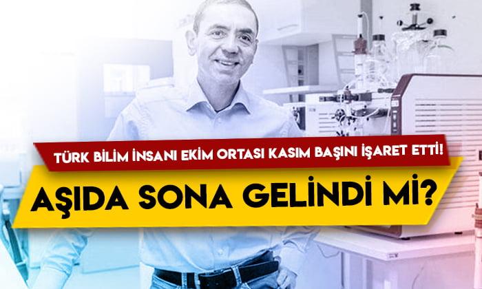 Türk bilim insanı Ekim ortası Kasım başını işaret etti! Aşıda sona gelindi mi?