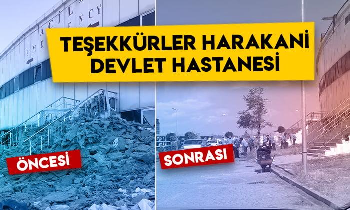 Tepkiler sonuç verdi: Teşekkürler Kars Harakani Devlet hastanesi
