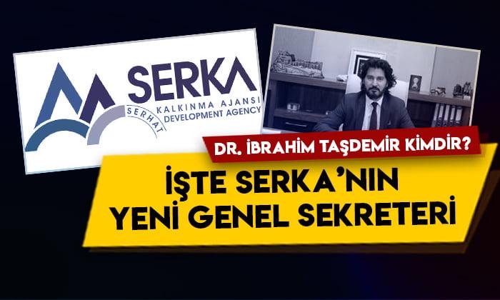Dr. İbrahim Taşdemir kimdir? İşte SERKA'nın yeni Genel Sekreteri