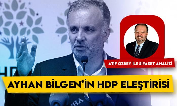 Siyaset Analizi – Ayhan Bilgen'in HDP eleştirisi 1