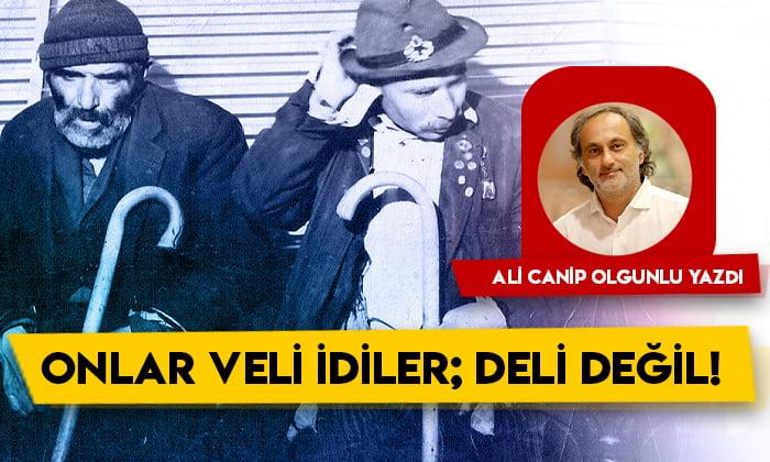 Ali Canip Olgunlu yazdı: Onlar veli idiler deli değil!