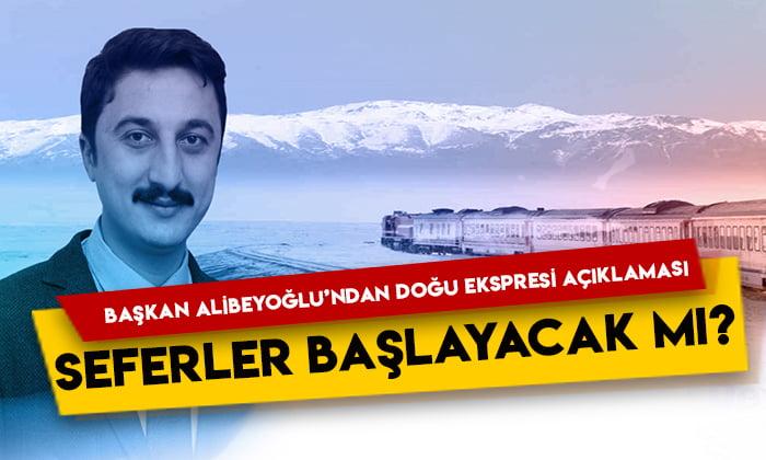 KATSO Başkanı Ertuğrul Alibeyoğlu'ndan Doğu Ekspresi açıklaması