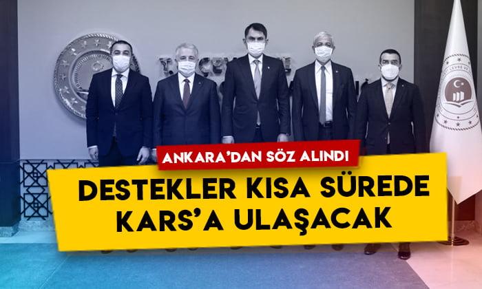 Ankara'dan söz alındı: Destekler kısa sürede Kars'a ulaşacak
