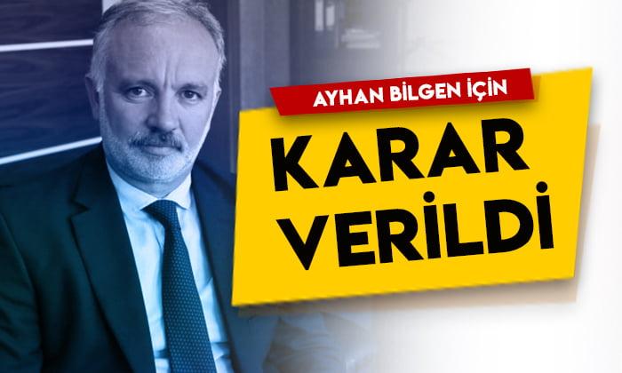 Mahkeme Kars Belediye Başkanı Ayhan Bilgen için kararını verdi!