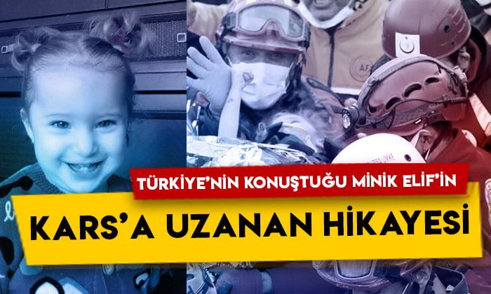 Türkiye'nin konuştuğu minik Elif Perinçek'in Kars'a uzanan hikayesi!