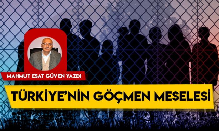 Türkiye'nin göçmen meselesi