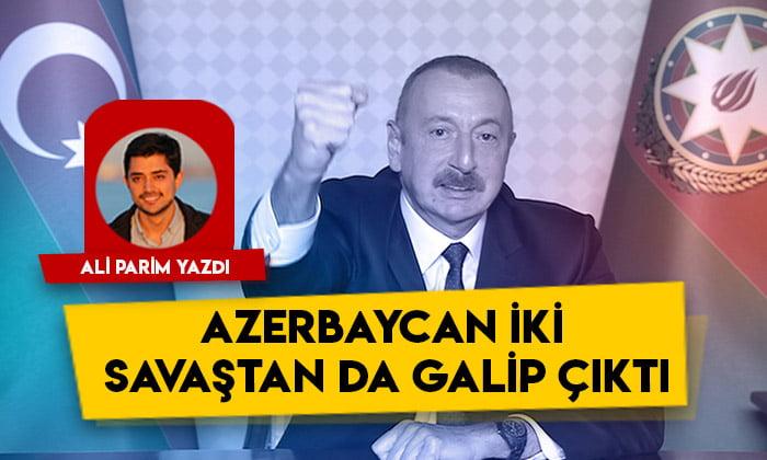 Azerbaycan iki savaştan da galip çıktı