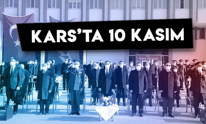 Kars'ta 10 Kasım