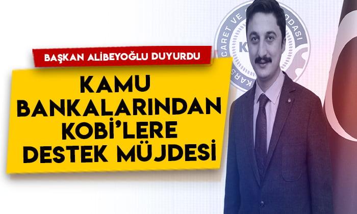 KATSO Başkanı Ertuğrul Alibeyoğlu duyurdu: Kamu bankalarından KOBİ'lere yeni destek müjdesi