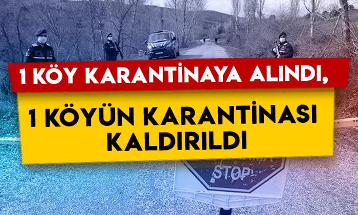 Haberler peş peşe geliyor: Kars'ta bir köy karantinaya alındı, bir köyün karantinası kaldırıldı