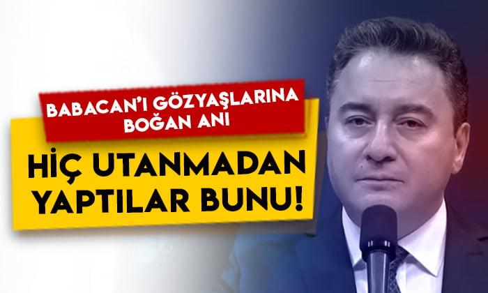 Ali Babacan'ı gözyaşlarına boğan 28 Şubat anısı: Hiç utanmadan yaptılar bunu!