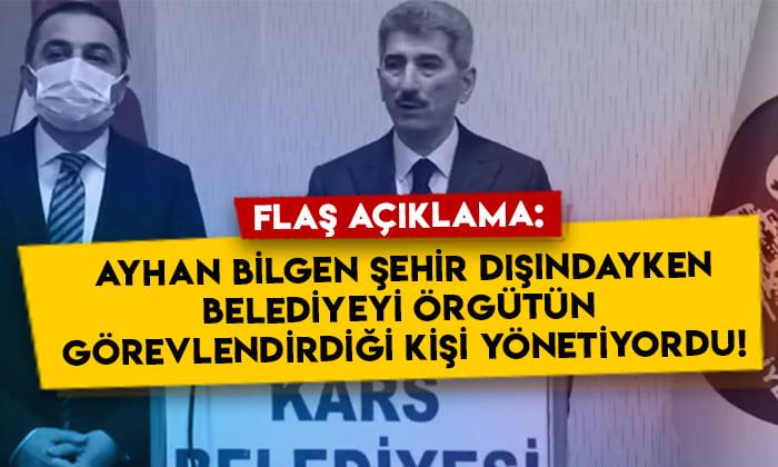 Muhterem İnce'den flaş açıklama: Ayhan Bilgen şehir dışındayken Kars Belediyesini örgüt tarafından görevlendirilen kişi yönetiyordu!