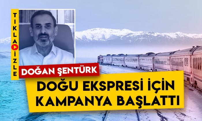 Doğan Şentürk Doğu Ekspresi için kampanya başlattı: Ardahan bunu fazlasıyla hak ediyor