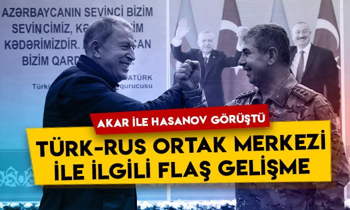 Karabağ'daki 'Türk-Rus Ortak Merkezi' ile ilgili flaş gelişme!