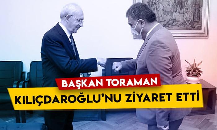 CHP Kars İl Başkanı Taner Toraman, Kılıçdaroğlu'nu ziyaret etti
