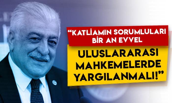Şamil Ayrım: Hocalı Katliamı'nın sorumluları, bir an evvel uluslararası mahkemelerde yargılanmalı!