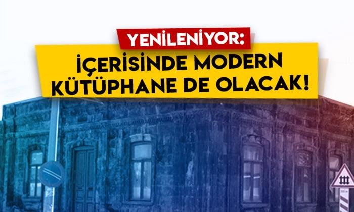 Aynalı Köşk Kültür ve Sanat Merkezi yenileniyor: İçerisinde modern kütüphane de olacak!