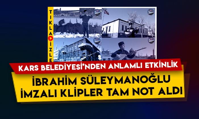 Kars Belediyesi'nden anlamlı etkinlik: İbrahim Süleymanoğlu imzalı klipler tam not aldı