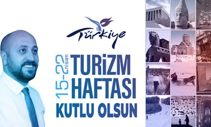 KARSOD Turizm Birliği Başkanı Halit Özer'den Turizm Haftası mesajı