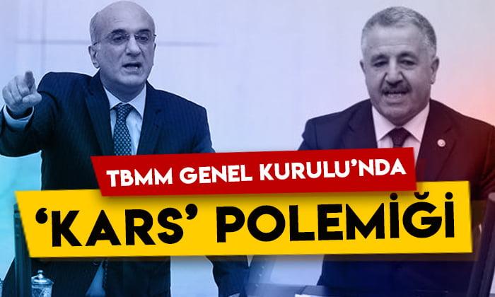 Ahmet Arslan ile Tekin Bingöl arasında 'Kars' polemiği!