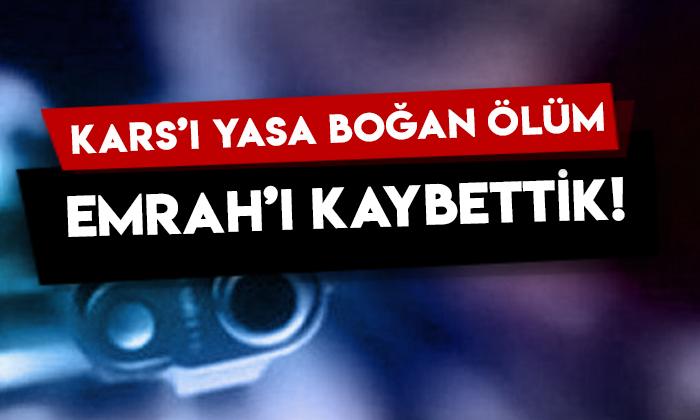 11 yaşındaki Emrah'ın kahreden ölümü, Kars'ı yasa boğdu!