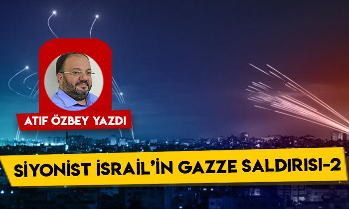 Siyonist İsrail'in Gazze Saldırısı 2