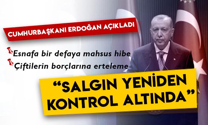 Cumhurbaşkanı Erdoğan'dan Kabine Toplantısı sonrası önemli açıklamalar!