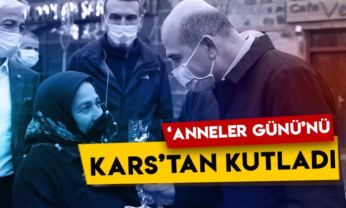İçişleri Bakanı Süleyman Soylu 'Anneler Günü'nü Kars'tan kutladı