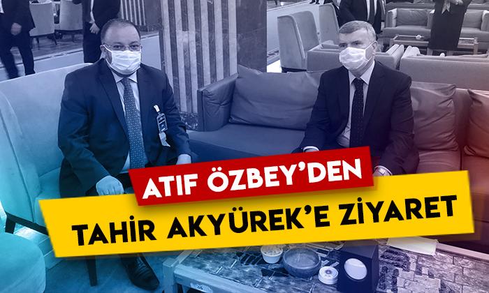 Atıf Özbey'den AK Parti Konya Milletvekili Tahir Akyürek'e ziyaret