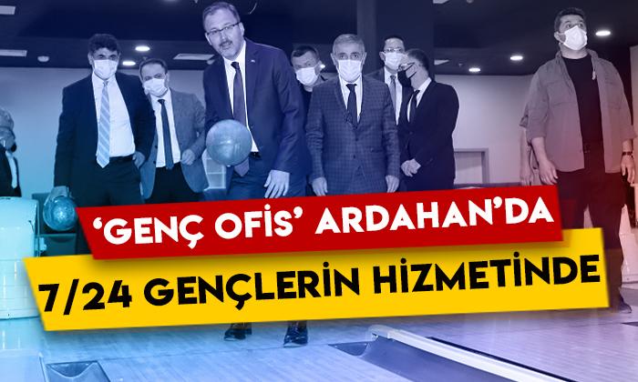 'Genç Ofis' Ardahan'da 7/24 gençlerin hizmetinde!