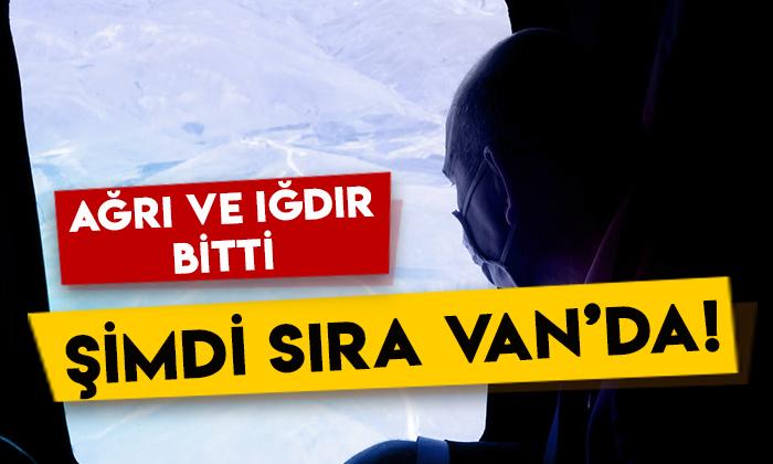 İçişleri Bakanı Süleyman Soylu duyurdu: Ağrı ve Iğdır bitti, şimdi sıra Van'da!