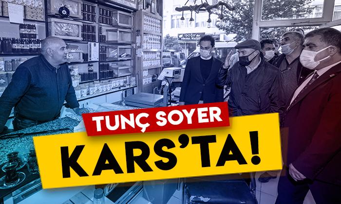 İzmir Büyükşehir Belediye Başkanı Tunç Soyer Kars'ta!