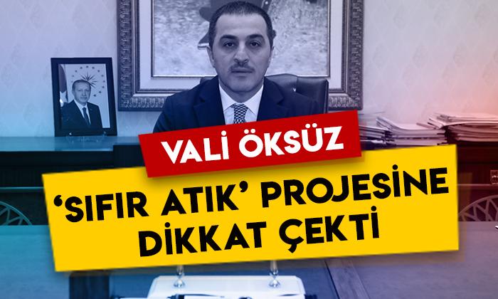 Kars Valisi Türker Öksüz 'Sıfır Atık' projesine dikkat çekti