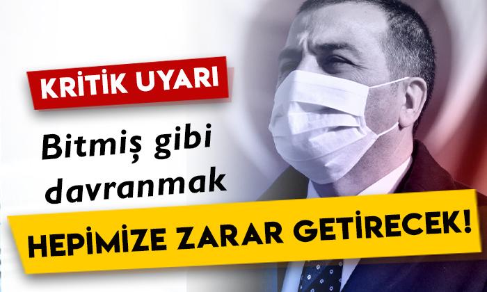 Kars Valisi Türker Öksüz'den kritik uyarı: Bitmiş gibi davranmak hepimize zarar getirecek!