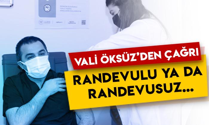 Kars Valisi Türker Öksüz'den çağrı: Randevulu ya da randevusuz…