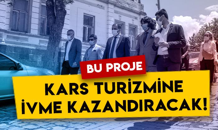 Vali Türker Öksüz, Kars'ın turizmine ivme kazandıracak projeyi yerinde inceledi!