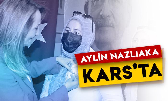 CHP Kadın Kolları Genel BaşkanıAylin Nazlıaka Kars'ta!