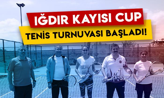 Iğdır Kayısı Cup Tenis Turnuvası başladı!