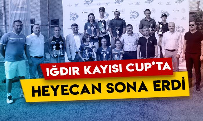 Iğdır Kayısı Cup Tenis Turnuvasında heyecan sona erdi