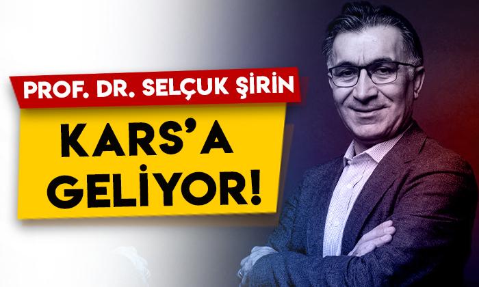 Prof. Dr. Selçuk Şirin imza günü için Kars'a geliyor!