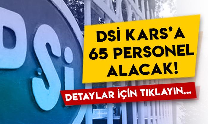 Devlet Su İşleri (DSİ) Kars'a 65 sürekli işçi alacak: İşte aranan şartlar!