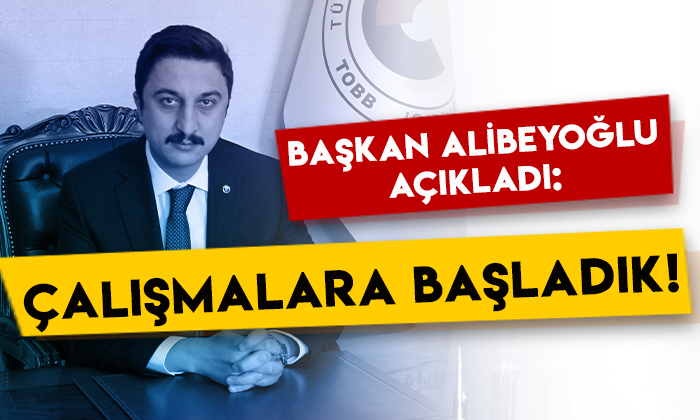 KATSO Başkanı Ertuğrul Alibeyoğlu açıkladı: Çalışmalara başladık!