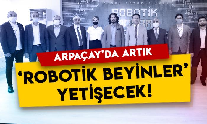 Kars Arpaçay'da 'Robotik Beyinler' yetişecek!