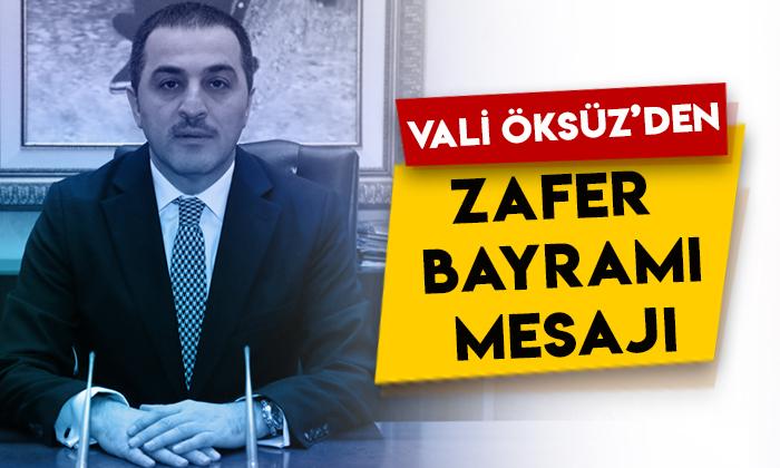 Kars Valisi Türker Öksüz'den 30 Ağustos Zafer Bayramı mesajı