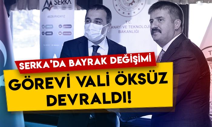 Serhat Kalkınma Ajansı'nda bayrak değişimi: Görevi Kars Valisi Türker Öksüz devraldı