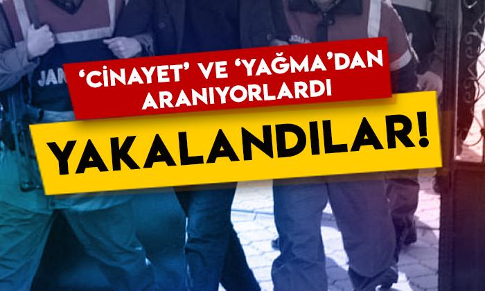 Iğdır'da 'cinayet' ve 'yağma'dan hükümlü 2 kişi yakalandı!