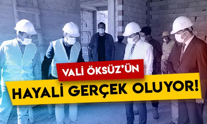 Kars Valisi Türker Öksüz'ün hayali gerçek oluyor