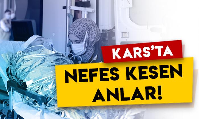 Kars Kafkas Üniversitesi Sağlık Araştırma ve Uygulama Merkezi Hastanesi'nde nefes kesen anlar!